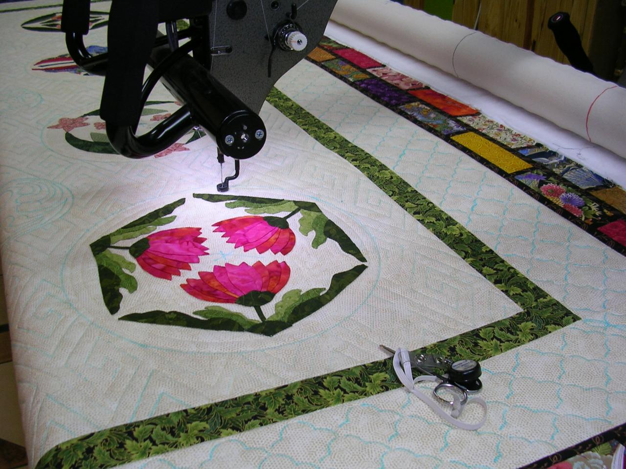 LoblollyQuiltworks - About Longarm Quilting